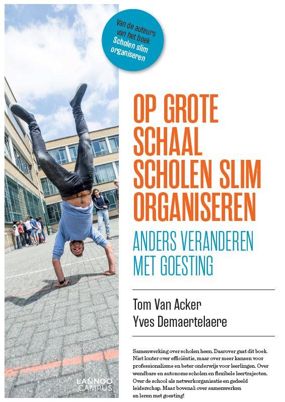 Cover op grote schaal scholen slim organiseren